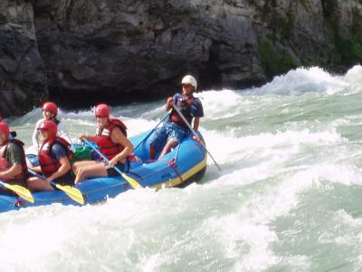 One Day White Water Rafting at Trishuli River